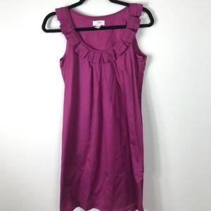 Ann Taylor Loft Purple Tank Dress With POCKETS 2
